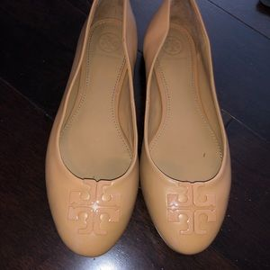 Tory Burch leather classic flats